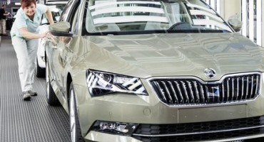 New era: Production of the new ŠKODA Superb begins