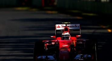 Formula 1, GP di Australia, Ferrari in seconda e terza fila