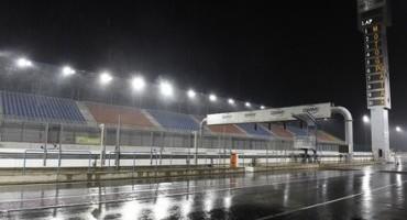 MotoGP, Ducati team, 3° giorno di test in Qatar: la pioggia e l'impossibilità di utilizzare le rain costringono i piloti ai box