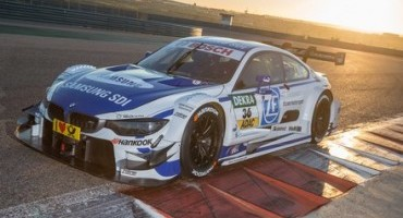 First appearance of the 2015 season for the BMW M4 DTM