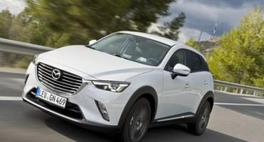 Da Mazda, il nuovo CX-3, evoluto crossover di segmento B