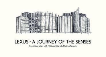 "LEXUS, alla Milano Design Week presenta ""A Journey of the Senses"""