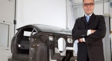 Lamborghini Aventador LP 700-4, la monoscocca in carbonio all'European Patent Office di Monaco
