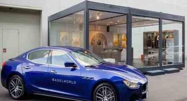 Baselworld 2015: è Maserati il Car Partner