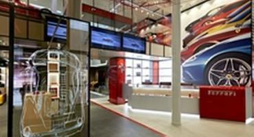 A Milano, nello storico Palazzo Ricordi, apre il Ferrari Store