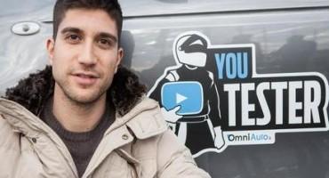 Alessio Frassinetti è il vincitore della prima edizione di Youtester, web talent promosso da OmniAuto.it