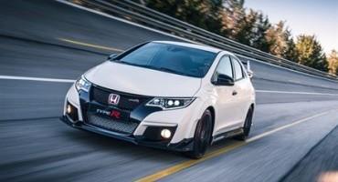 Nasce la nuova Honda Civic Type R, un'auto da corsa per la strada