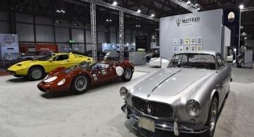 Maserati presente ad Autoclassica con modelli storici