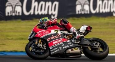 WSBK, Tailandia, primo giorno di prove positivo per L'Aruba.it Racing – Ducati Superbike Team, 3° Davies e 7° Bayliss