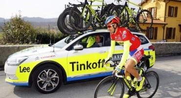 Citroën è partner della squadra di ciclismo Tinkoff-Saxo
