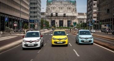 Europcar e Renault, insieme per il test drive social #GuidaTu, Roma e Milano invase dalla nuova Twingo