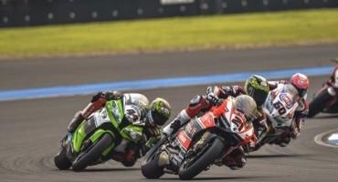 WSBK, gare difficili quelle di oggi per i piloti dell'Aruba.it Racing – Ducati Superbike Team, sul tracciato di Buriram