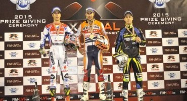 Toni Bou celebrates his ninth X-Trial title in Oviedo with a podium place