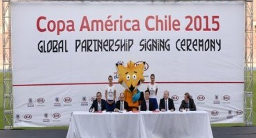 Kia Motors è partner, per la seconda volta, della Coppa America Chile 2015