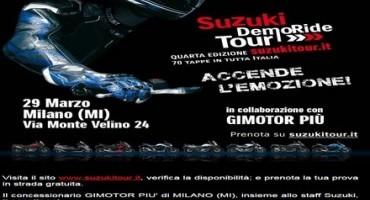 Suzuki DemoRide Tour, i prossimi eventi