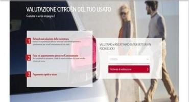Citroën Italia: ti interessa una valutazione del tuo usato? Guarda il nuovo sito