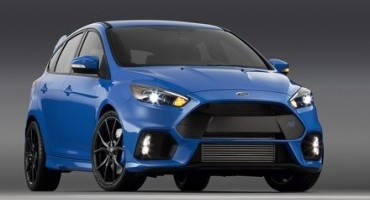 All-new Ford Focus RS makes American debut at the New York International Auto Show next week