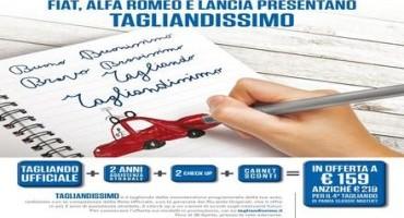 """""""Tagliandissimo"""", presso la rete Ufficiale  Fiat, Lancia e Alfa Romeo: manutenzione programmata e due anni di assistenza stradale"""