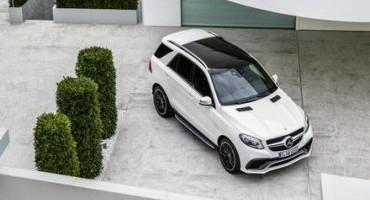 Mercedes-Benz presenta le versioni rivisitate dei SUV GLE e AMG GLE 63