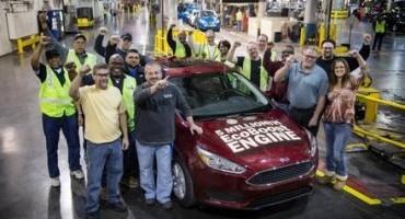 Ford, motore Ecoboost: le unità prodotte sono 5 milioni