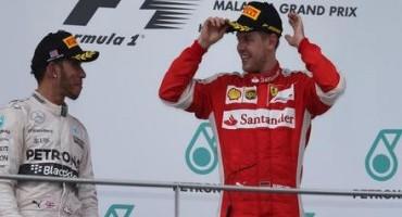 Formula 1, Malesia, strepitoso successo di Vettel che tiene dietro le Mercedes