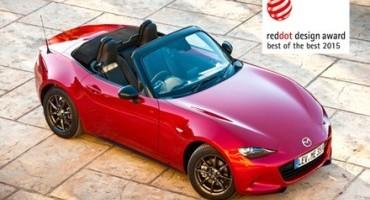 Mazda, tre nuovi modelli del Brand giapponese si aggiudicano il Premio 2015 Red Dot