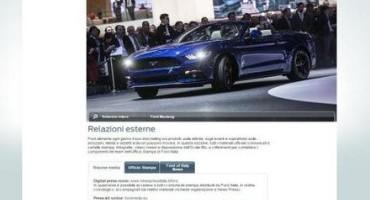 Ford Italia: nasce una nuova area digitale per l'Ufficio Relazioni Esterne