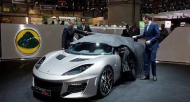Lotus Evora 400 debuts at the Geneva Motorshow