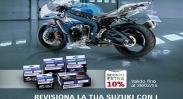 Suzuki, fino al 30 Aprile 2015, prezzi scontati sui Kit di manutenzione