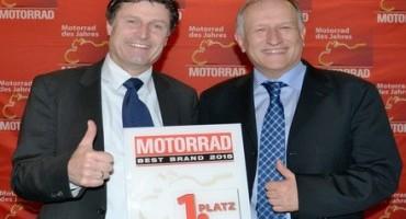 METZELER è il miglior marchio del 2015, lo conferma la rivista tedesca Motorrad