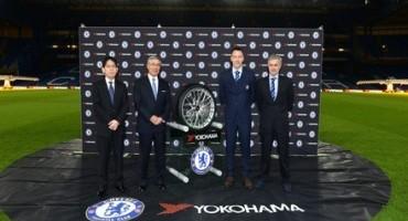 Yokohama: il team inglese del Chelsea FC porterà sulla maglia i colori del produttore di pneumatici