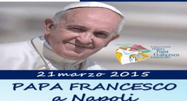 La visita di Papa Francesco alla città di Napoli