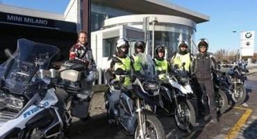 """BMW Italia, dalla sede di San Donato Milanese parte """"Eroi dei 5 Mondi"""", emozionante iniziativa in moto, in 5 tappe"""