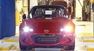 Nuova Mazda MX-5, inizia la produzione