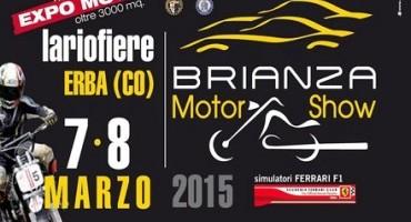 Brienza MotorShow, questo fine settimana a Lariofiere (Erba)