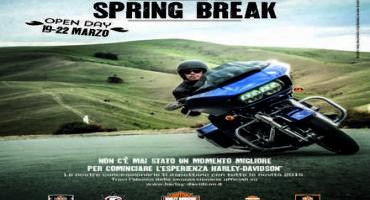Harley-Davidson® : Spring Break 2015, l'open day di inizio stagione (19 – 22 Marzo) presso la rete ufficiale