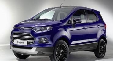 """Ford svela a Ginevra la versione """"S"""" del SUV compatto Ecosport"""