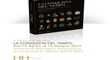 """""""La Conquista del Tempo"""":  Mostra e Libro d'Arte, due eventi in Italia"""