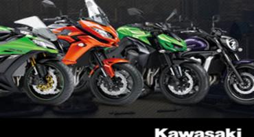 Kawasaki : arriva il finanziamento su tutta la gamma