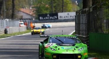 Autodromo di Monza, week end Blancpain, vittoria all'esordio per la Lamborghini Huracàn