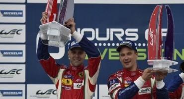 WEC, 6 Ore di Silverstone, la Ferrari di Bruni e Vilander si aggiudica la prima gara del 2015