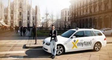 """A Milano arriva """"mytaxi"""", la nuova app per i taxi"""