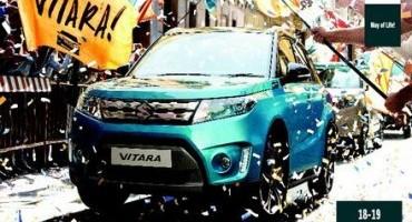 Nuova Suzuki Vitara, Porte Aperte il 18 e 19 aprile 2015