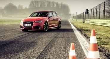 Audi presenta RS 3 Sportback: potenza ed esclusività in poco più di quattro metri