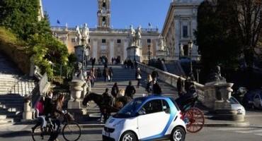 A Roma si festeggia car2go! Il car sharing a flusso libero compie 1 anno