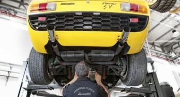 """Lamborghini rilancia il Centro di Restauro: competenza e garanzia nel """"Polo Storico Lamborghini"""""""