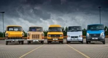 Ford Transit: 50 anni e non sentirli