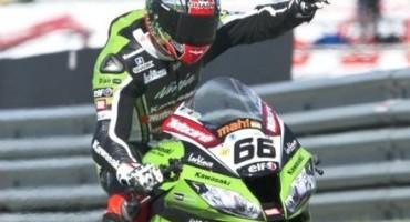 WSBK, Assen: a Tom Sykes (Kawasaki Racing Team) la Superpole, poi Rea e Haslam