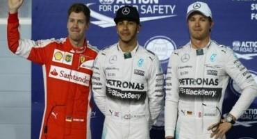 Formula 1 GP del Bahrain, strapotere di Hamilton che centra la quarta pole
