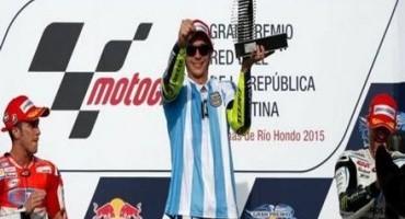 MotoGP, uno strabiliante Rossi vince il GP di Argentina è la vittoria n° 110 in carriera